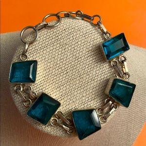 Vintage sterling 925 silver bracelet